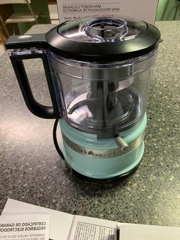 KitchenAid Mini Food Processor 3.5 Cup Kitchen Aid Chopper K