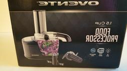 OVENTE PF1006B Mini Food Processor 100-Watts, with One Touch