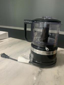 Mini Food Processor Hot Sauce Chop Mix Puree 3 1/2 Cup Meal