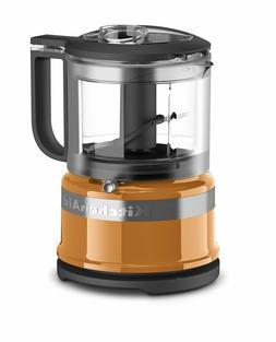KitchenAid 3.5 Cup Mini Food Processor - Tangerine Orange