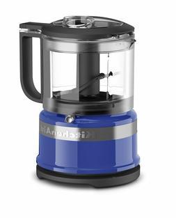 Mini Food Processor Twilight Blue KitchenAid 3.5 Cup Kitchen