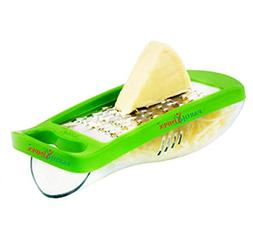 PARTH IMPEX Mini Grater Stainless Steel Blade with Detachabl