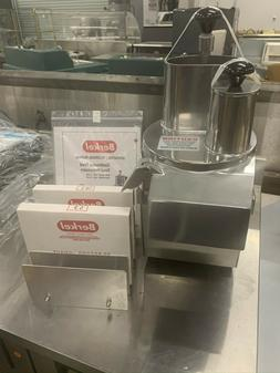 BERKEL Model M2000 Continuous Feed Food Processor with 2 Bla
