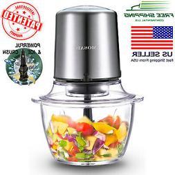 MOSAIC Electric Food Processor, Food Chopper, Meat Grinder,