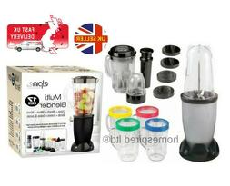 multi 17pc bullet blender juicer smoothie maker