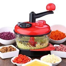 Multi-function Manual Food Processor Meat Grinder Vegetable
