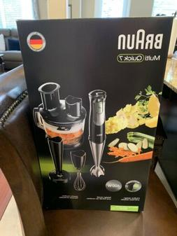 Braun MultiQuick 7 Hand Blender Set with Assorted Attachment