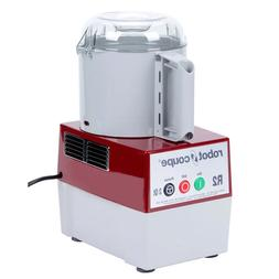 NEW ROBOT COUPE 1 HP FOOD PROCESSOR WITH GREY POLYCARBONATE