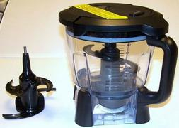 New Ninja 64 oz Food Processor Bowl, lid, blade assembly for