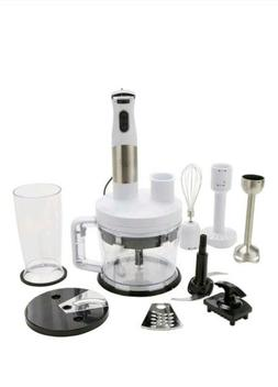NEW Wolfgang Puck 7 in 1 Immersion Blender with 12 Cup Food