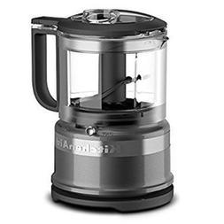 NEW IN BOX KitchenAid KFC3516QG 3.5 Cup Mini Food Processor,