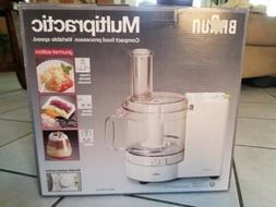 New Braun MC200 Multipractic Electronic Food Processor Made