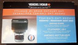 NEW Mini Food Processor Coffee Grinder Black & Decker Under