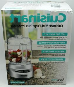 New Cuisinart Mini-prep Plus 4-Cup Food Processor Stainless