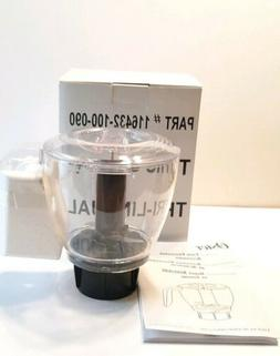 New Oster Model # 116432-100-090 Food Processor Accessory Bo