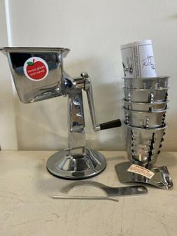 New Salad Master Healthy Gourmet Kitchen King Cutter Manual