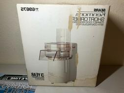 New Kenmore Short Order Compact Food Processor with Continuo