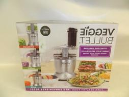 NIB Magic Veggie Bullet Food Processor Vegetable Slicer Shre