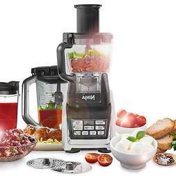 Ninja 1500W Food Processor With Nutri Ninja, Auto-IQ And Chu