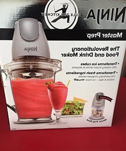 NEW Ninja Master Prep Food & Drink Mixer Model QB900B Gray B