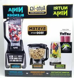 Nutri Ninja Auto-IQ Kitchen System 1500W Stand Blender Food