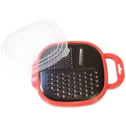 3 in One Cheese Grater For Kitchen With Box - BPA Free Food
