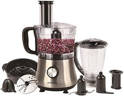 Ovente PF6007S Deluxe 8 Cup Multi-Function Food Processor wi