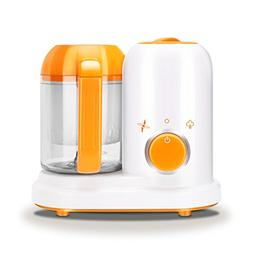 Portable Baby Puree Food Processor Steamer Blender,All in On