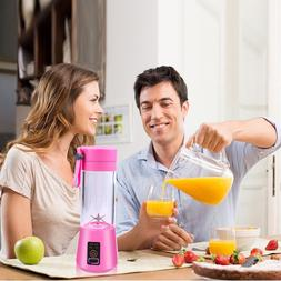 Portable Juicer Electric USB Rechargeable <font><b>6</b></fo