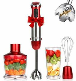 KOIOS Powerful 500 Watt Hand Blender Setting 6-12 Variable S