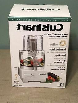 Cuisinart Pro Classic Food Processor 7 Cup DLC10S New in Box