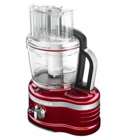 KitchenAid Pro Line 16-Cup Food Processor | Candy Apple Red