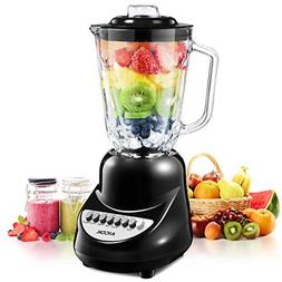 professional blender with glass for shakes