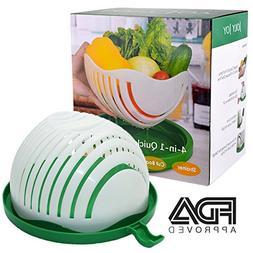 Quick Chop Salad Bowl, FDA Approved Salad Cutter Bowls, Joly
