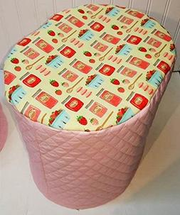 Quilted Strawberries & Jam Food Processor Cover
