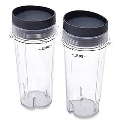 Replacement Parts for Nutri Ninja Blender by KORSMALL, Two P