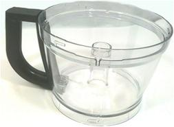 Kitchenaid Replacement Work Bowl  W/black Handle, For Kfp133