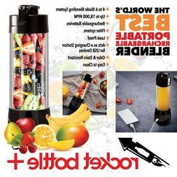 Rocket Bottle Plus Portable Food Blender Processor Juicer AS