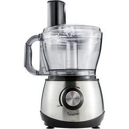 BRENTWOOD FP581B FP-581 Food Processor, 8_Cups, Silver