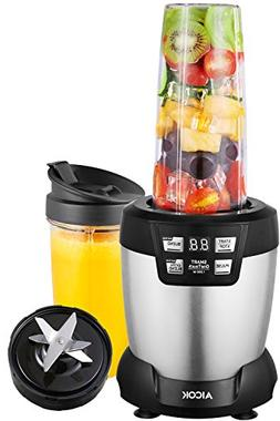 Aicok Smoothie Blender, Professional Blender 1200 Watt, Pers