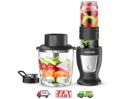 Smoothie Countertop Blenders Blender, Fochea 300W Profession