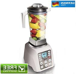 German Pool 120V Professional High-Speed Food Processor With