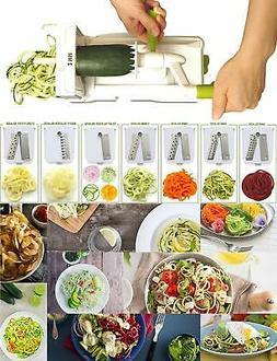 Spiralizer Vegetable Slicer – Food Processor for Fruits an
