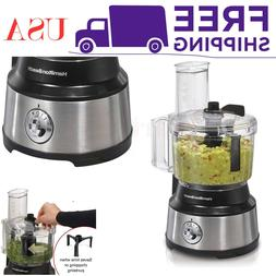 Stainless Steel 10 Cup Food Processor and Vegetable Chopper