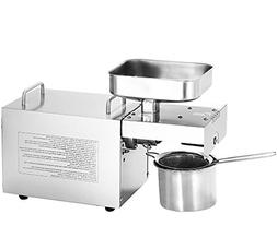 CGOLDENWALL Stainless Steel Mini Oil Press Machine Commercia