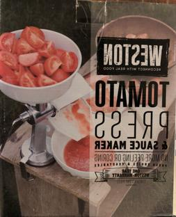 Weston Tomato Press & Sauce Maker, White 07-0801 Sauce Maker