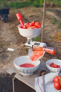Tomato Sauce Maker Food Strainer Electric Motor Apple Puree