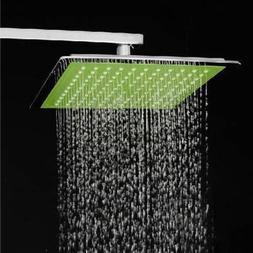 Bheema Ultra Thin Pressurized Square 8 Inch Bath Rainfall Sh