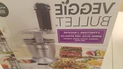 veggie bullet food processor electric spiralizer shredder