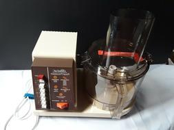 Vintage Sears 7 Speed Food Processor Brand New  #400 823603